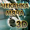 Чеканка мяча 3D