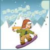 Веселый сноубордист