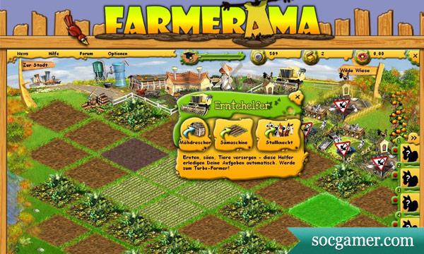 farmerama1 Обзор игры Farmerama