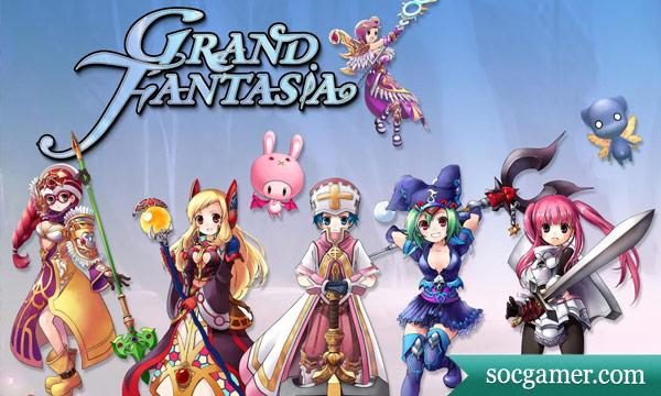 grandfantaziya Обзор игры Grand Fantasia