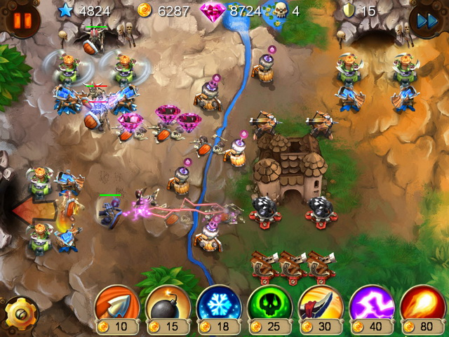 goblin defenders battles of steel n wood screenshot0 Гоблины защитники. Сталь и древо