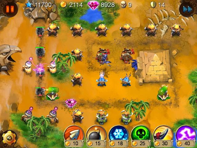 goblin defenders battles of steel n wood screenshot3 Гоблины защитники. Сталь и древо