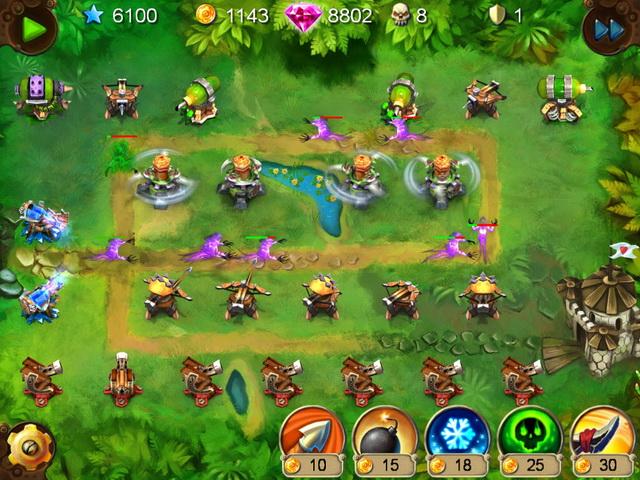 goblin defenders battles of steel n wood screenshot5 Гоблины защитники. Сталь и древо