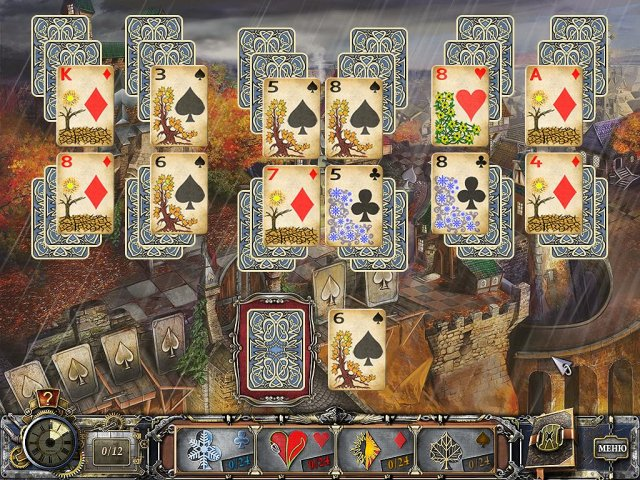 solitaire mystery four seasons screenshot0 Магия пасьянса. Времена года