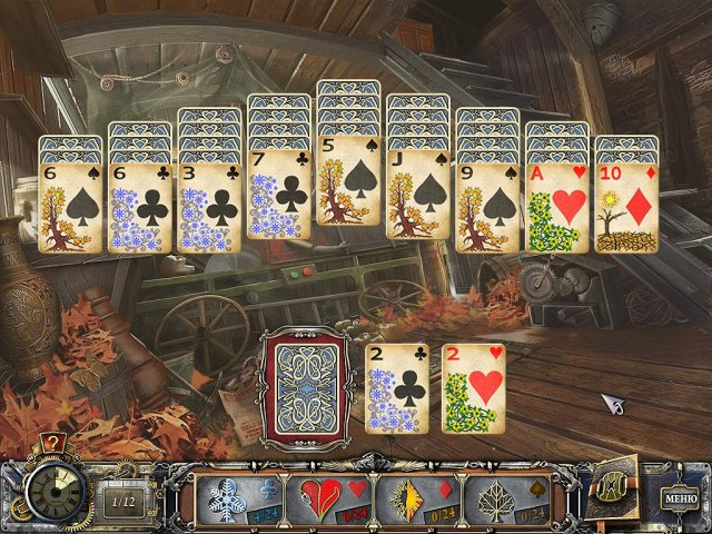 solitaire mystery four seasons screenshot5 Магия пасьянса. Времена года