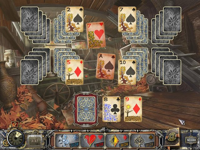 solitaire mystery four seasons screenshot6 Магия пасьянса. Времена года