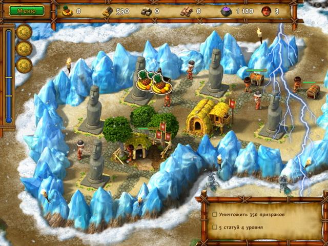 moai build your dream screenshot2 Моаи. Строители мечты