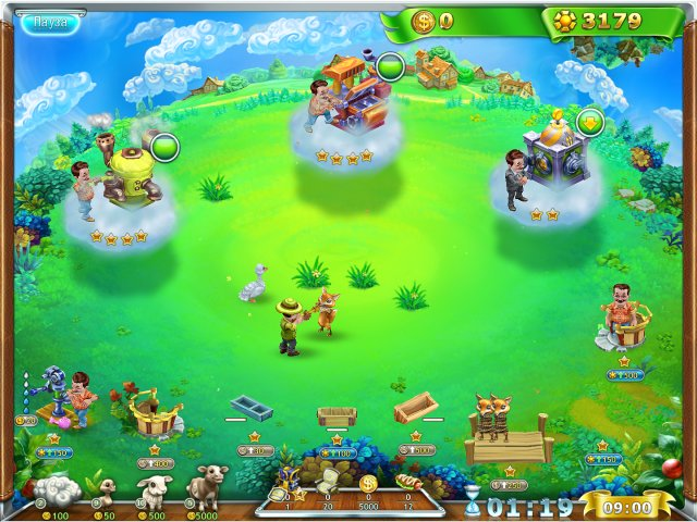 4 Хрустальный шар. Планета фермеров