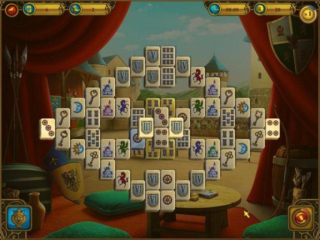 mahjong royal towers screenshot0 Маджонг. Королевские башни