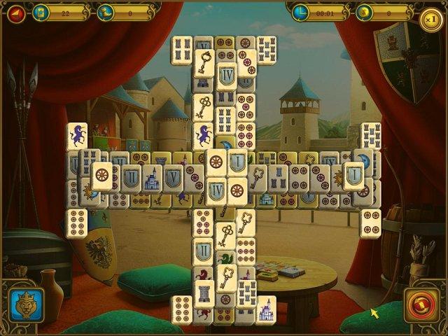 mahjong royal towers screenshot2 Маджонг. Королевские башни