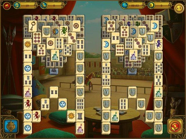 mahjong royal towers screenshot3 Маджонг. Королевские башни