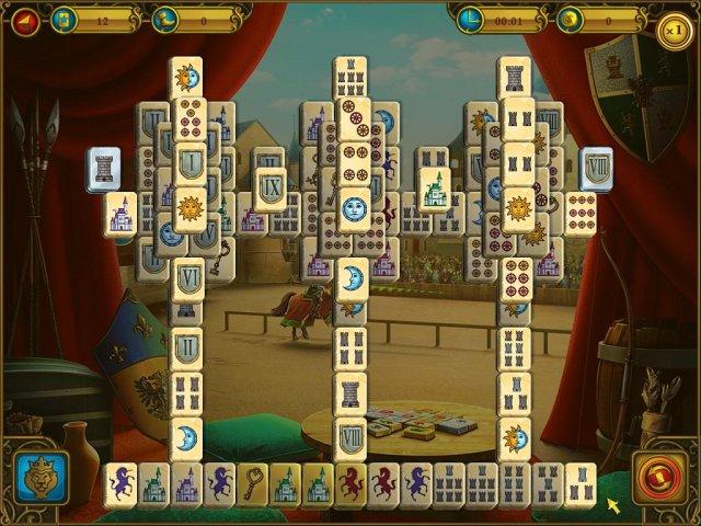 mahjong royal towers screenshot5 Маджонг. Королевские башни