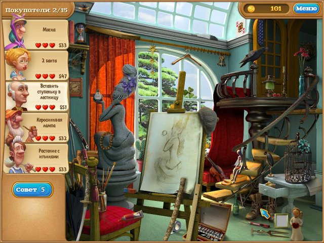 gardenscapes 2 screenshot1 Дивный сад 2. Коллекционное Издание