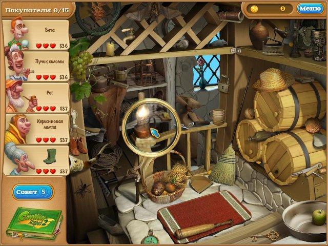 gardenscapes 2 screenshot2 Дивный сад 2. Коллекционное Издание