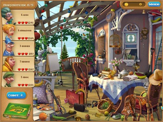 gardenscapes 2 screenshot5 Дивный сад 2. Коллекционное Издание