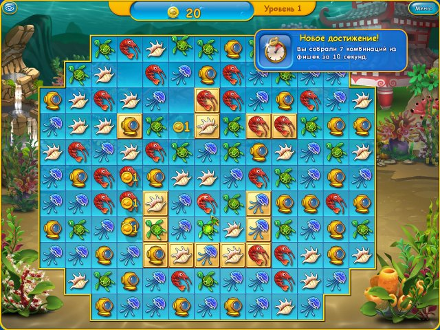 fishdom 3 screenshot1 Фишдом 3