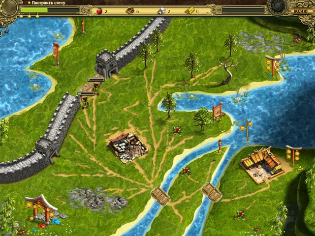 building the great wall of china collectors edition screenshot1 Возведение Великой китайской стены. Коллекционное издание