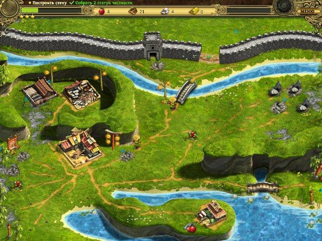 building the great wall of china collectors edition screenshot6 Возведение Великой китайской стены. Коллекционное издание