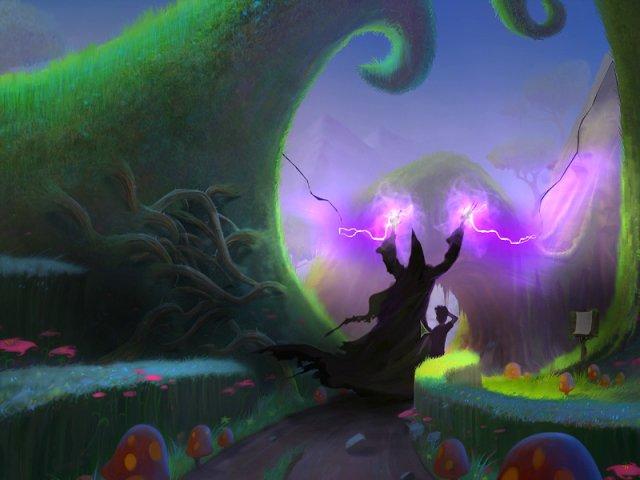drawn trail of shadows screenshot2 Нарисованный мир. Испытание теней
