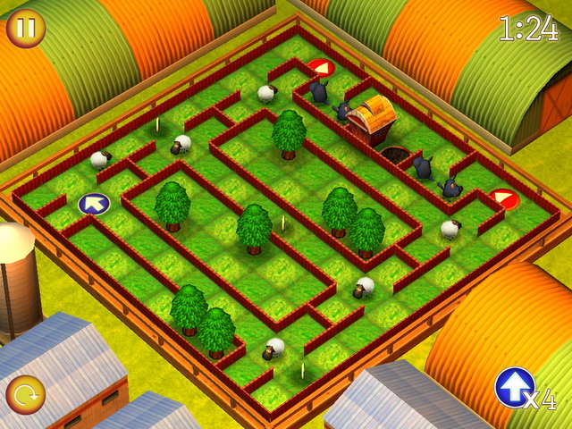 running sheep tiny worlds screenshot0 Спаси овечек. Крошечные миры