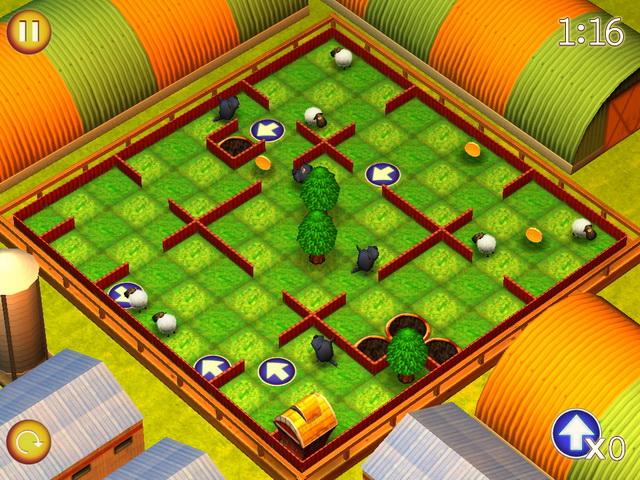 running sheep tiny worlds screenshot6 Спаси овечек. Крошечные миры