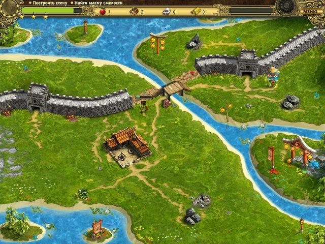 building the great wall of china collectors edition screenshot0 Возведение Великой китайской стены. Коллекционное издание (СКИДКА 50%*)