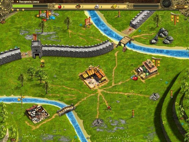 building the great wall of china collectors edition screenshot2 Возведение Великой китайской стены. Коллекционное издание (СКИДКА 50%*)
