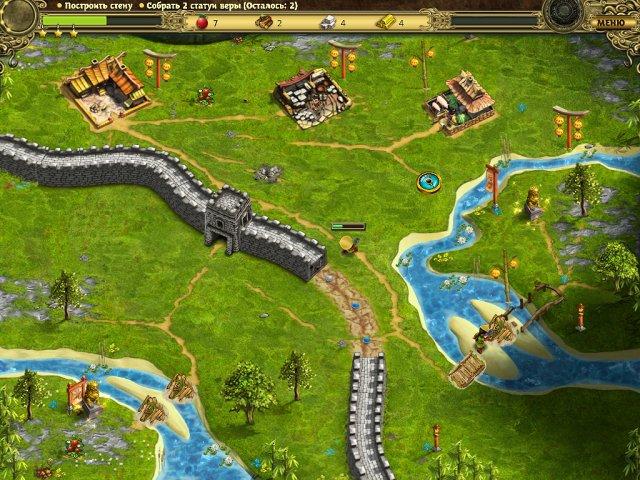 building the great wall of china collectors edition screenshot3 Возведение Великой китайской стены. Коллекционное издание (СКИДКА 50%*)