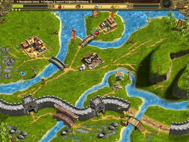 building the great wall of china collectors edition screenshot4 Возведение Великой китайской стены. Коллекционное издание (СКИДКА 50%*)