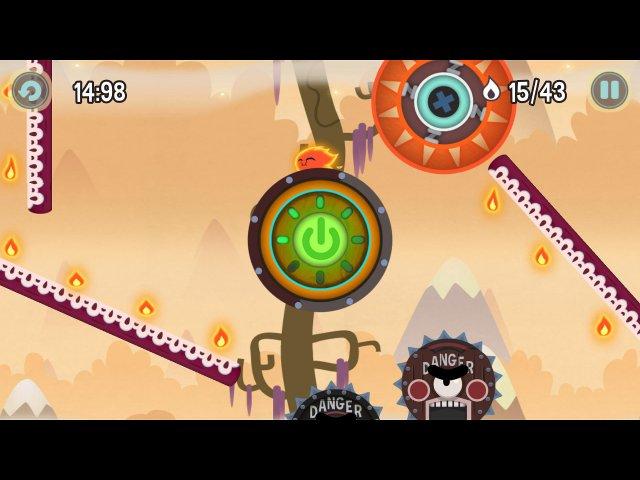 pyro jump screenshot2 Огонек Прыг скок
