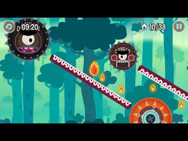 pyro jump screenshot3 Огонек Прыг скок