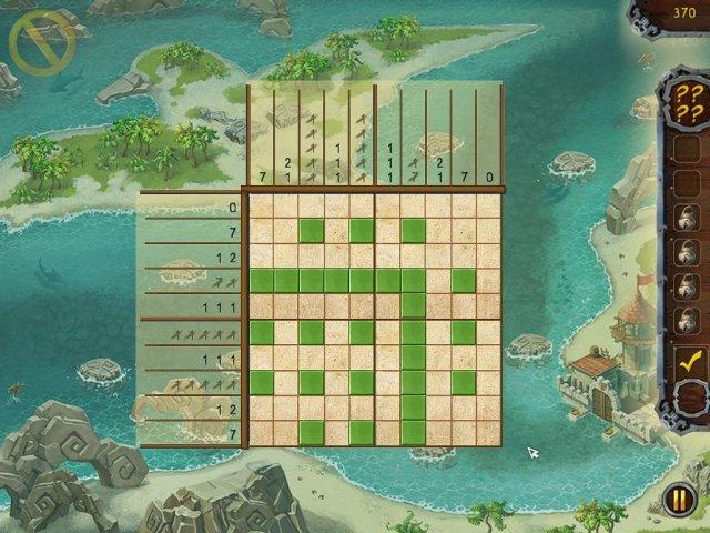 fill and cross pirate riddles screenshot1 Пиратские загадки. Угадай картинку