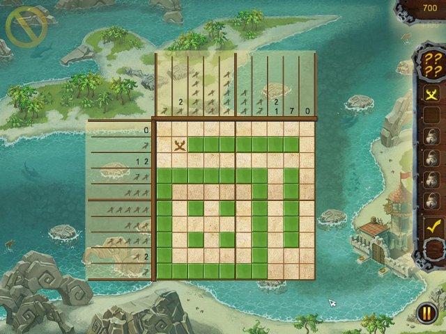 fill and cross pirate riddles screenshot2 Пиратские загадки. Угадай картинку