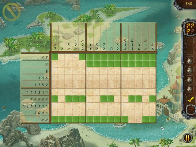 fill and cross pirate riddles screenshot3 Пиратские загадки. Угадай картинку