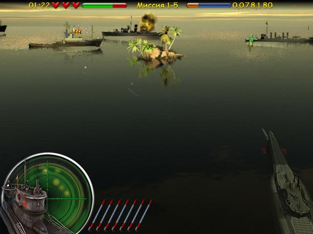 ocean range 2 screenshot0 Морской бой. Подводная война СКИДКА 50%