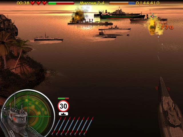 ocean range 2 screenshot1 Морской бой. Подводная война СКИДКА 50%
