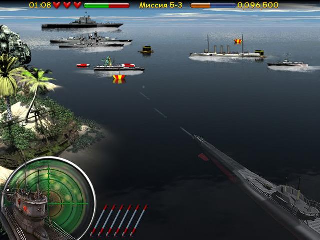 ocean range 2 screenshot5 Морской бой. Подводная война СКИДКА 50%
