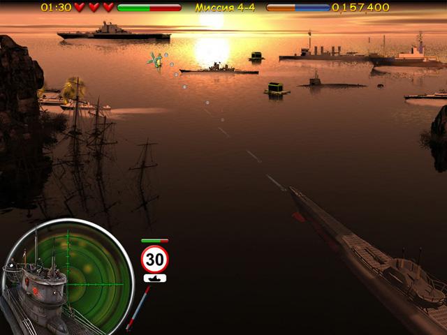 ocean range 2 screenshot6 Морской бой. Подводная война СКИДКА 50%