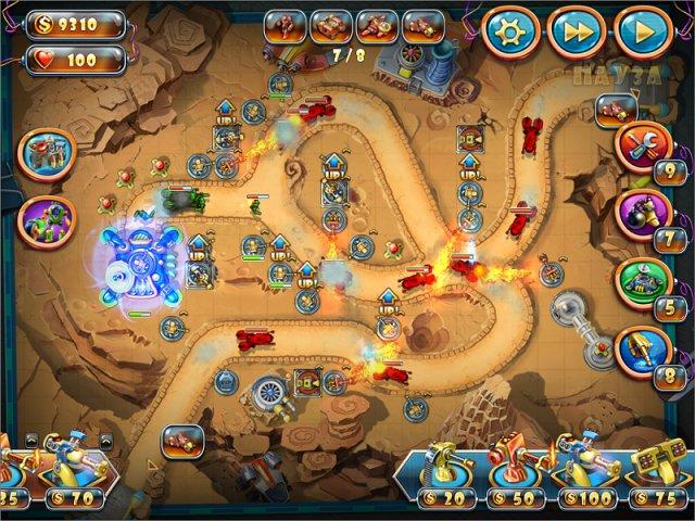 toy defense 4 sci fi screenshot4 Солдатики. Звездный десант