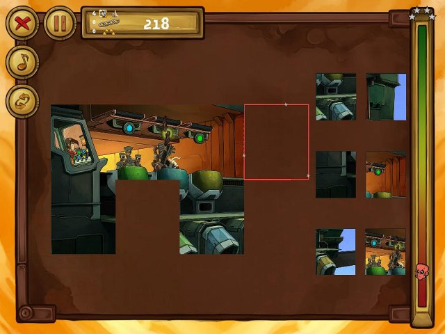 welcome to deponia the puzzle screenshot0 Депония. Пазлы