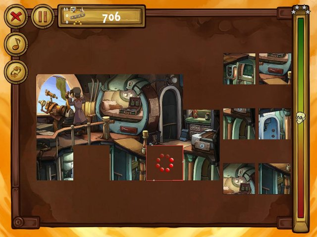 welcome to deponia the puzzle screenshot1 Депония. Пазлы