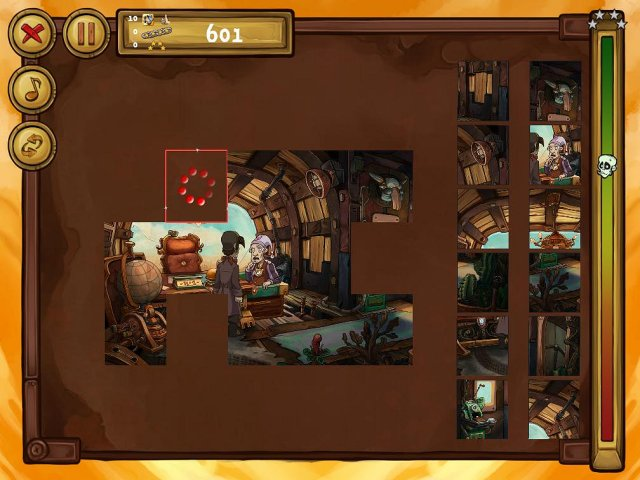welcome to deponia the puzzle screenshot2 Депония. Пазлы