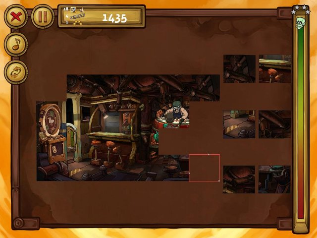 welcome to deponia the puzzle screenshot3 Депония. Пазлы