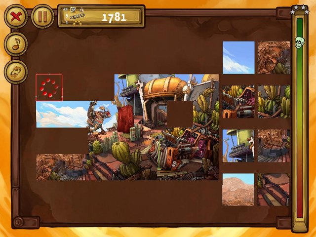 welcome to deponia the puzzle screenshot4 Депония. Пазлы