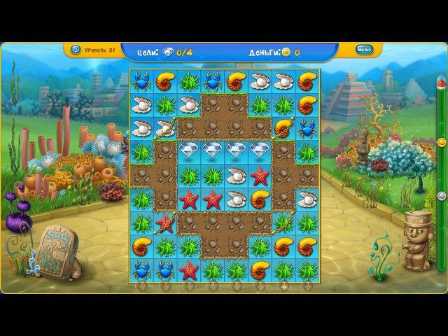 fishdom depths of time collectors edition screenshot2 Фишдом. Глубины времени. Коллекционное издание