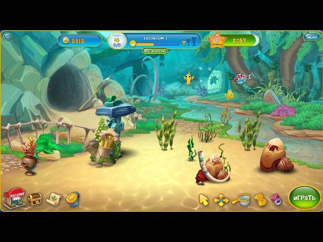 fishdom depths of time collectors edition screenshot5 Фишдом. Глубины времени. Коллекционное издание