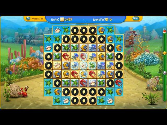 fishdom depths of time collectors edition screenshot6 Фишдом. Глубины времени. Коллекционное издание