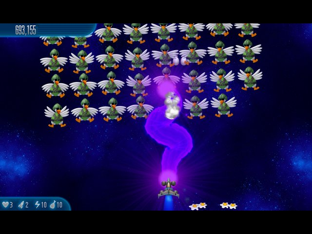 chicken invaders 5 cluck of the dark side screenshot6 Вторжение кур 5. Темный клюв