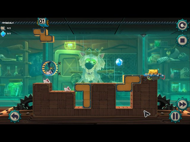 mousecraft screenshot0 MouseCraft.Мышиная лаборатория