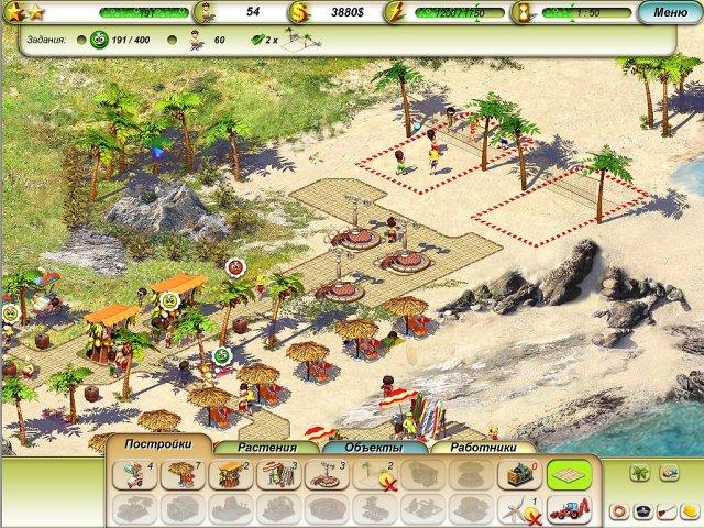 paradise beach screenshot3 Пляжный рай
